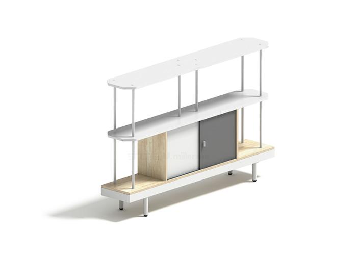 T02两层间隔柜