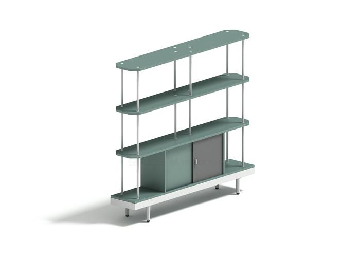 T02三层间隔柜