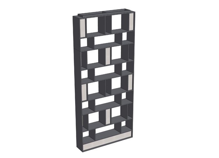 C01-ZS01装饰柜